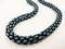 SuperDuo Rope Beadwork Necklace Jewellery Kit Pastel Bordeaux/Turquoise